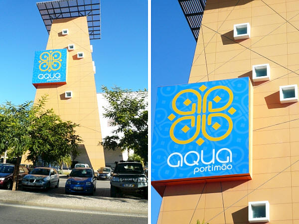 Aqua shoppingcentre in Portimão