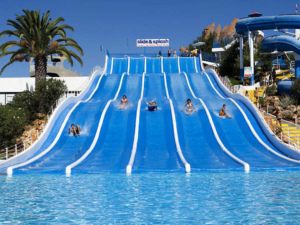 Slide and Splash water park Algarve