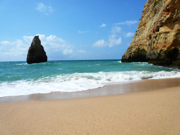 sandy beaches algarve